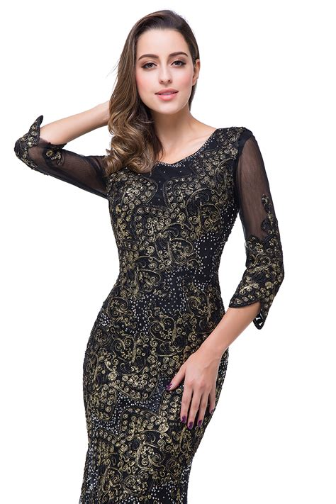 Of The Dresses by Black 3 4 Sleeve Of The Dress 2018