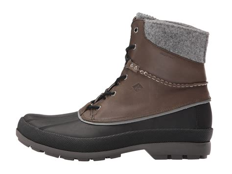 sperry cold bay boot sperry top sider cold bay boot w vibram arctic grip grey