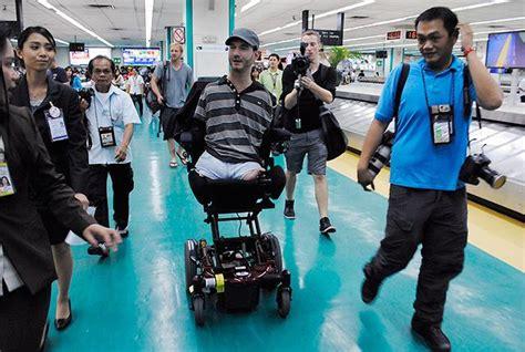 nick vujicic biography tagalog disabled evangelist arrives to speak of hope overcoming