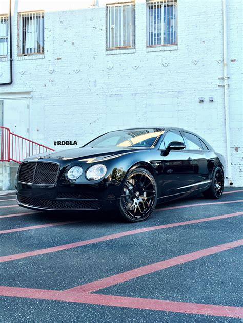 bentley blacked out rdbla 2015 bentley flying spur black out rdb la