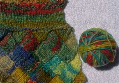 how to knit entrelac entrelac
