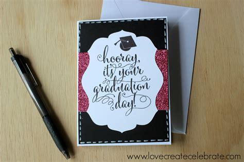 how to make graduation cards graduation card create celebrate