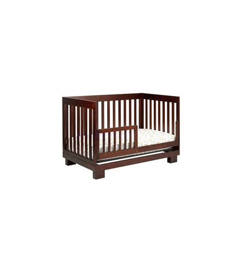 Baby Modo Crib Babyletto Modo 3 In 1 Convertible Crib With Toddler Bed Conversion Kit In Espresso Finish