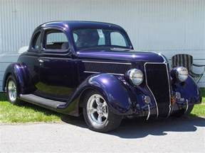 1936 ford coupe purple front angle 1152x864 wallpaper