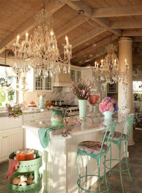 chic kitchen a shabby chic kitchen you can create on a budget