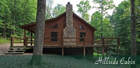 Cabin Home On The Hill by Hillside Cabin Hocking S Cave Ohio