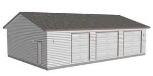 Garage Plans With Workshop G465 40x60x10 Workshop Garage Plan