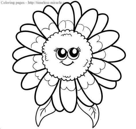 flower sheets for girls coloring pages