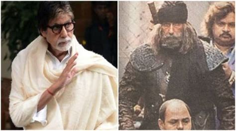 Thugs of Hindostan: Amitabh Bachchan's leaked picture ...