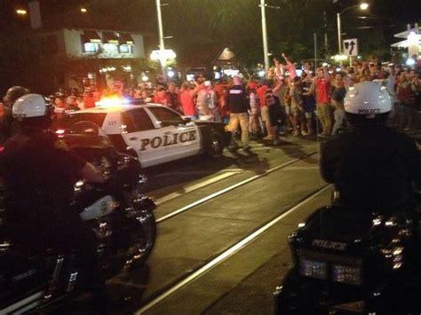 university of arizona fan police pepper spray arizona fans upset over team s ncaa