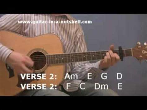 tutorial guitar hotel california acoustic guitar play hotel california for beginners youtube