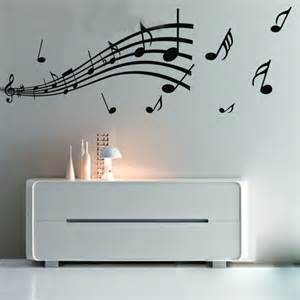 note pattern graffiti wall home decor mural decal