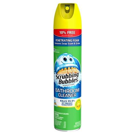 scrubbing bubbles bathtub cleaner scrubbing bubbles citrus bathroom cleaner 25 oz walmart com