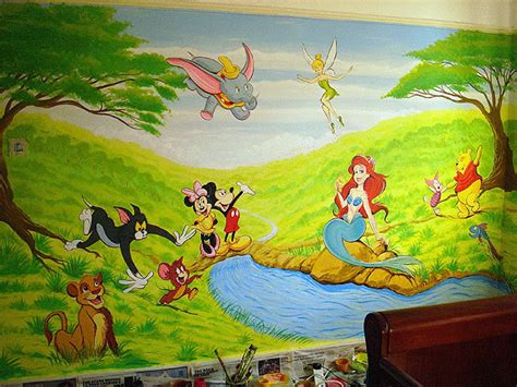 wallpaper disney murals disney wallpaper free disney wallpaper murals