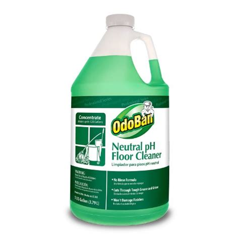 Floor Cleaner Concentrate by Odoban 936162 G Neutral Ph Floor Cleaner Concentrate 1 Gallon Bo