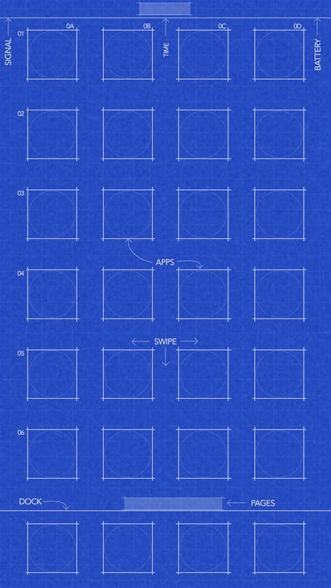 grid  blueprint wallpapers  iphone