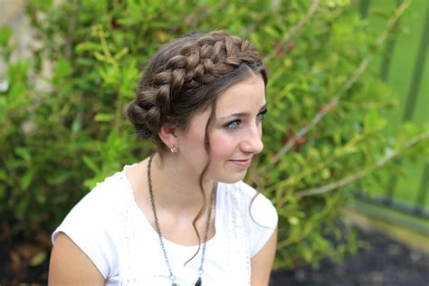 nice hairdos for the summer milkmaid braid cute summer hairstyles cute girls