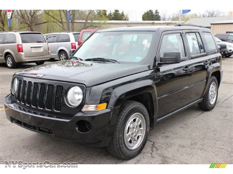 2009 Jeep Patriot Sport 2009 Jeep Patriot Sport In Brilliant Black Pearl