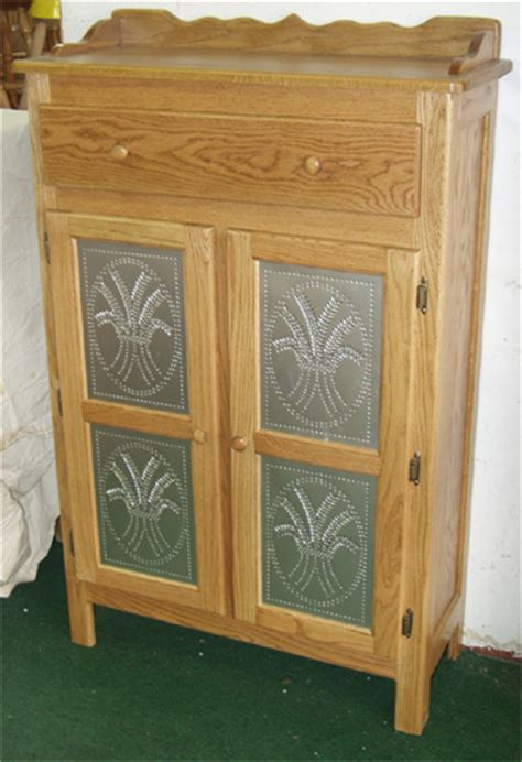 Amish Pantry Cabinet by Four Tin Pie Safes Built To Order By Clayborne S Amish