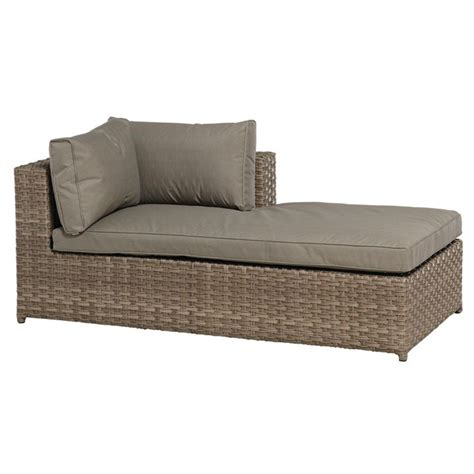 Brown Chaise Lounge Chaise Lounge Unit Brown