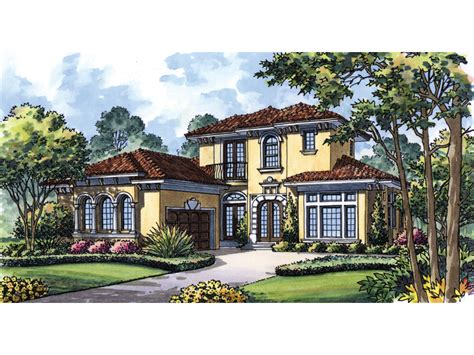eloise manor italian style home plan 047d 0070 house