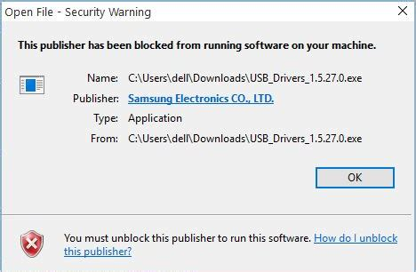 windows 10 blocks publisher mediatek how do i unblock a publisher in windows 10 website