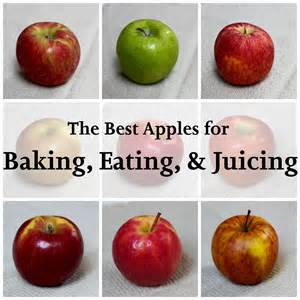 the best apples for baking eating juicing