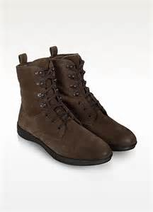 brown suede boots moreschi brown suede lace up