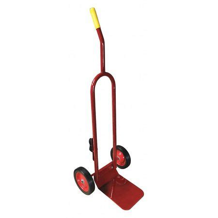 flame engineering cd 100 cylinder hand truck, 40 lb., red