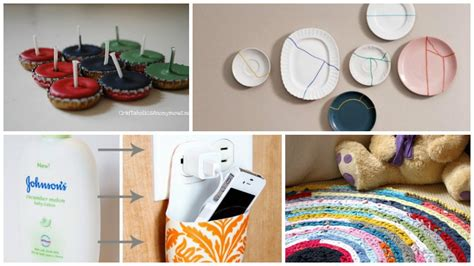 home decor ideas from waste 10 clever diy home decor crafts with actual waste materials