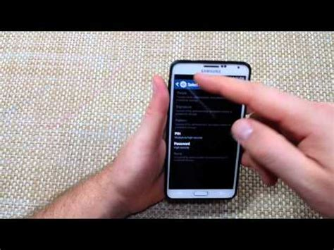 reset samsung lock code how to remove password or code from samsung galaxy note 3