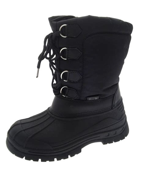 winter boots for boys boys waterproof sole snow boots mucker