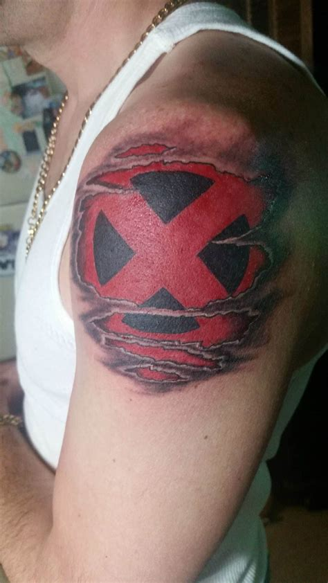 x tattoo ideas superhero tattoos for men ideas and inspiration for guys