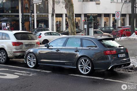 Audi Rs6 C7 by Audi Rs6 Avant C7 1 Februar 2014 Autogespot