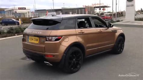 range rover rose gold land rover range rover evoque sd4 dynamic bronze 2014