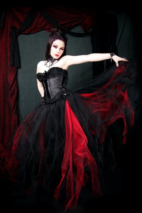 gothic designers black and red wedding dresses design wedding dress