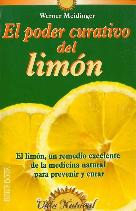libro limon poder curativo del lim 211 n el