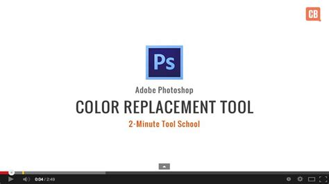 how to use the color replacement tool in photoshop creative bloq
