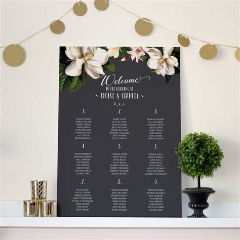 Wedding Seating Chart by 6 Wedding Seating Chart Issues And How To Solve Them