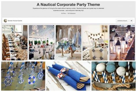 themed business events the pinterest guide to planning a corporate event senate
