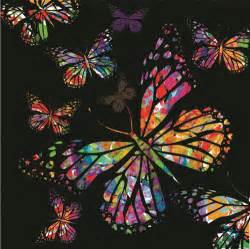colorful designer colorful butterflies design vector free vector in