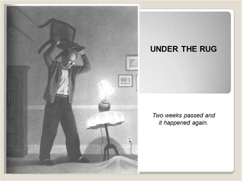 Harris Burdick The Rug by The Mysteries Of Harris Burdick Ppt