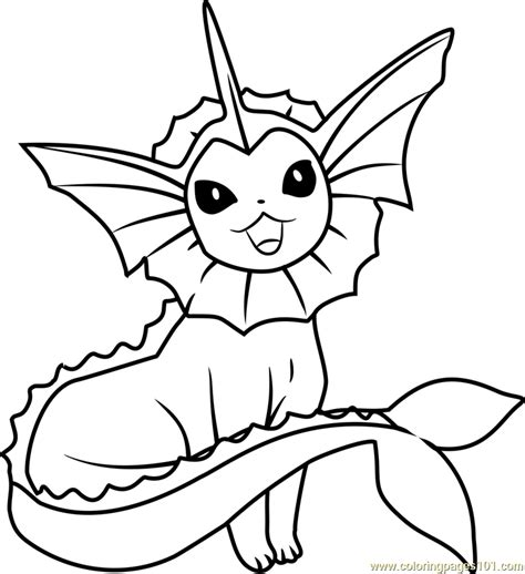 pokemon vaporeon coloring pages coloring book pikachu vaporeon pokemon coloring page free pok 233 mon coloring