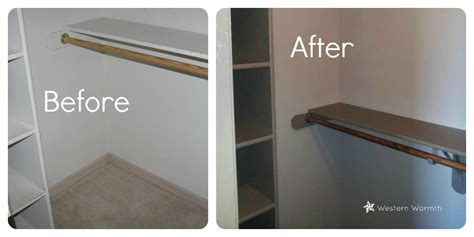 Closet Paint Ideas by Western Warmth Closet Painting