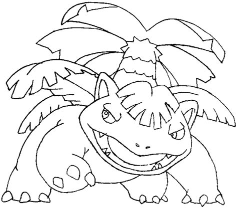 coloring book tutorial mega venusaur coloring pages how to draw from step