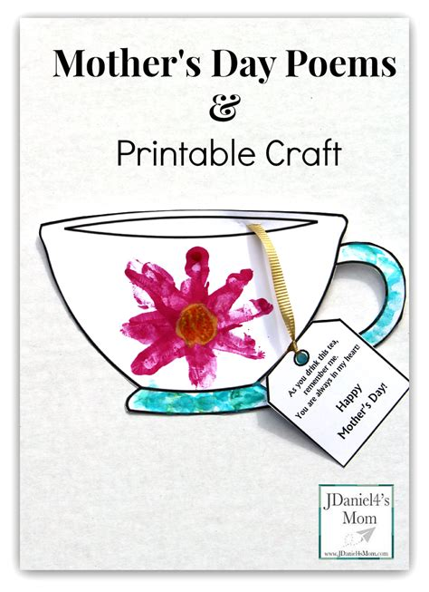 Beautiful Christmas Poems For Kids #3: Mothers-Day-Poems-and-Printable-Craft.png