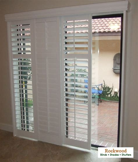 Shutter Blinds For Patio Doors by Lowes Window Treatments Cheap Decorating Bamboo Mini