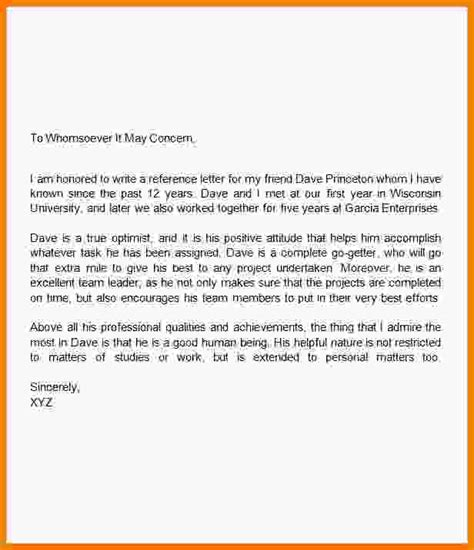 How To Recommendation Letter For 4 How To Write A Recommendation Letter For A Friend Report