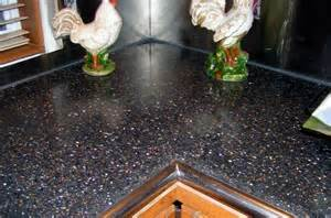 polished concrete countertop