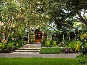 Tropical Front Garden Ideas South Miami Garden Tropical Landscape Miami By Raymond Jungles Inc